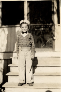 My daddy as a young boy!